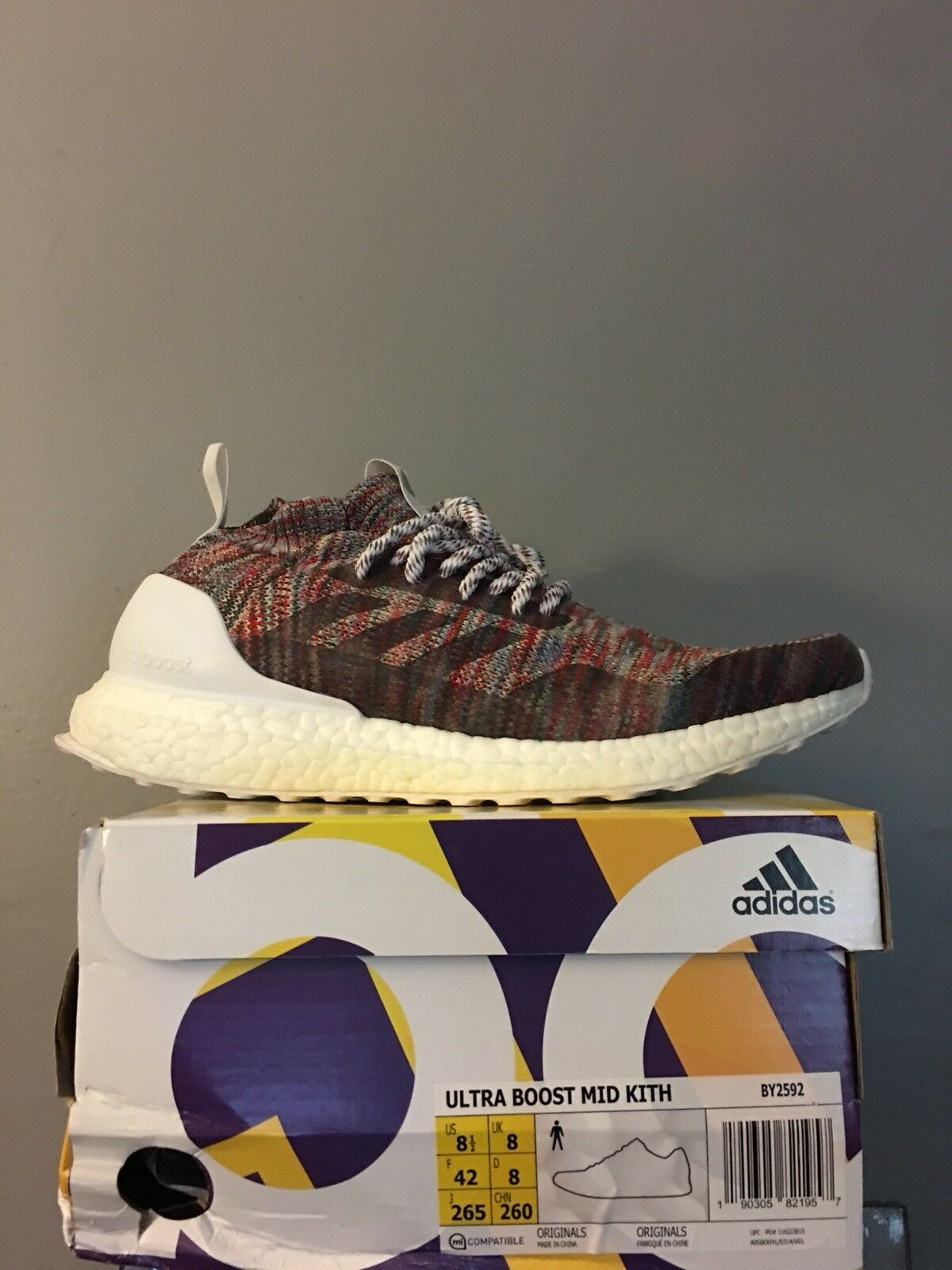Adidas Ultra Boost Mid Kith Aspen Size 8.5