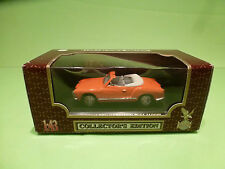 YATMING ROAD LEGENDS VW VOLKSWAGEN KARMANN GHIA 1960 - ORANGE 1:43 - NMIB