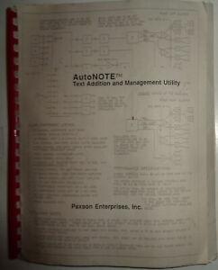 AutoNote-by-Paxson-Enterprises-1989-IBM-5-1-4-034-add-text-to-AutoCAD-Unused