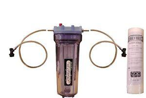 "10"" Beer Filter Kit 5-Micron Draft Beer Homebrew Clarification Filtration"