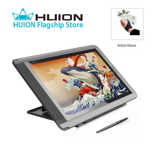 huion kamvas gt 156hd v2 drawing tablet monitor 15 6 hd ips pen