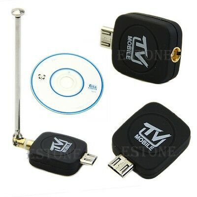 High Quality HDTV Mini DVB-T Stick Dongle for Android Tablet Smartphone Black