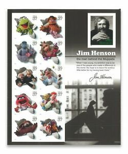 USA-2005-JIM-HENSON-034-THE-MUPPETS-034-S-S-OF-11-SELF-ADHESIVE-STAMPS-MINT-MUH-3944