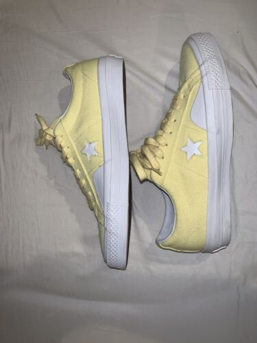 Chocolate Skateboards x Converse One Star Yellow S