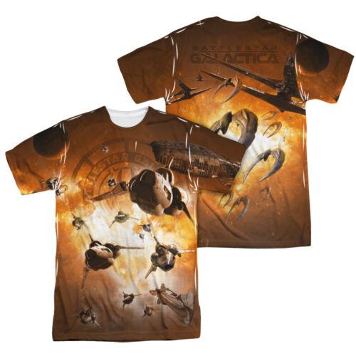 Tunika Shirt mit aufwendigem Allover Druck Lila 32 // 34 Gr M2009-974587