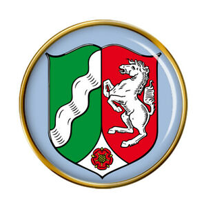 Nord-Westphalie-avec-Allemagne-Broche-Badge