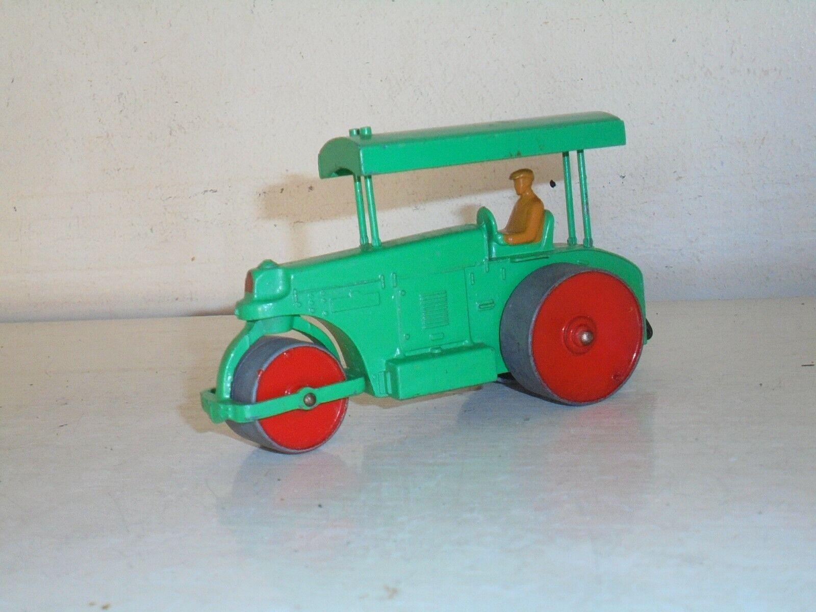 DINKY TOYS - 251 AVELING BARFORD Road Roller- minty Grün -good unboxd c1963