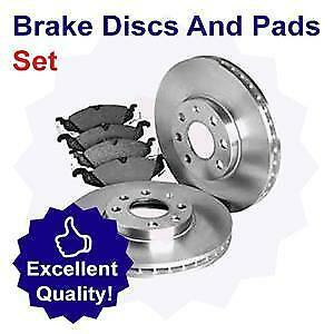 02//11-Present Front Brake Disc and Pad Set for BMW 328 2.0