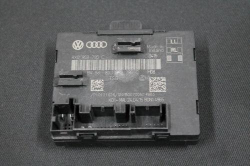 Audi A1 8X Q3 8U Türsteuergerät Steuergerät Tür door unit hinten 8X0959795C
