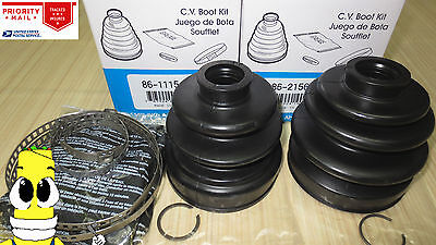 Front Inner /& Outer CV Axle Boot Kit for Chevy LUV Pickup w// 4x4 1979-1982 EMPI