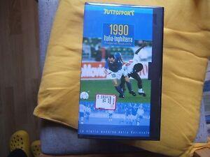 VHS-ITALIA-INGHILTERRA-2-1-1990-5-COPPA-DEL-MONDO-F-I-F-A-TUTTOSPORT-SIGILLATA