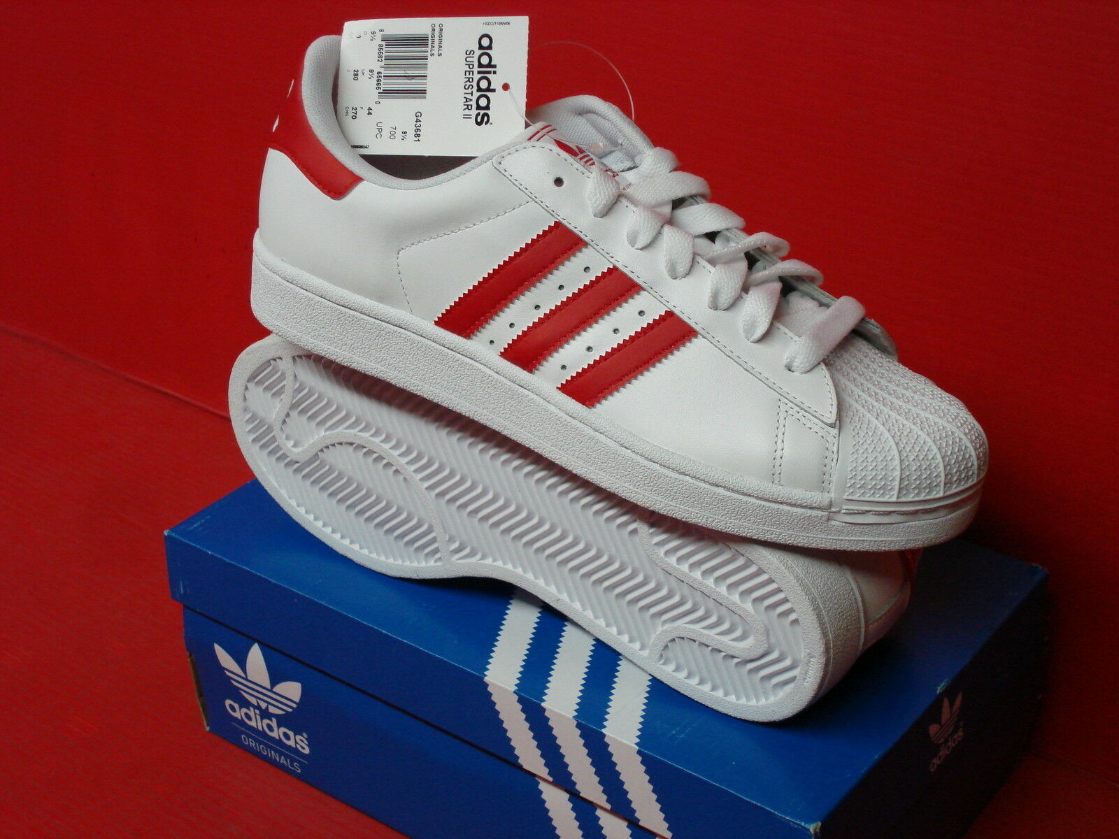 ADIDAS ATHELTIC SUPERSTAR II MENS CASUAL ATHELTIC ADIDAS G17071 G43681 c5f4fa