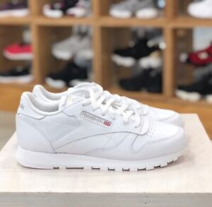 Reebok-Womens-Reebok-CLASSIC-LEATHER-2232-WHITE-Shoes-Sneakers-Authentic
