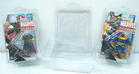 Protech Action Figure Case 2 Thicker Display Case Lot Of 5