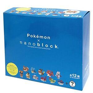 Pokemon Mini Nanoblock 02 Nbmpm _ S Boîte Objet 1 Box = 12 Pièces Japon F/s