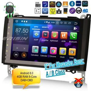 Mercedes-Benz-Autoradio-Android-8-0-DAB-9-034-A-B-Class-Vito-Viano-GPS-OBD-CAM-7801F