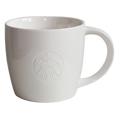 Starbucks Fore Here 16oz Kaffee Tasse weiss Coffee Cup Mug white Collectors