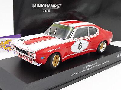 Minichamps 155738509 Ford Capri RS 2600 No.9 6h Nürburgring 1973 ETCC 1:18