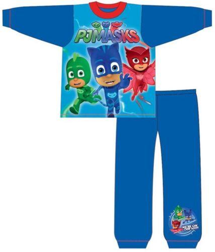 Garçons Officiel Véritable caractère PJ Masques sur notre chemin Pyjamas Âge 2 3 4 5 ans NEUF