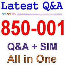 Symantec Cloud Security 1.0 850-001 Exam Q/&A PDF+SIM