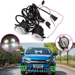 LED-Fog-Light-Lamp-Wiring-For-Toyota-Kluger-Prius-C-V-Rav4-Tarago-Tundra-Yaris-2