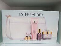 Estee Lauder Beautiful Skin Solutions:anti Wrinkle Set In Trav. Bag - See Descr.