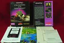 PC DOS: Wizardry 7 : Crusaders of the Dark Savant  - Sir-Tech Software 1993