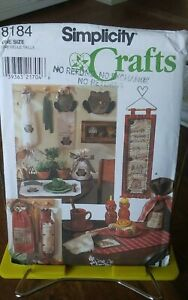 Oop-Simplicity-Crafts-Sandy-Dye-8184-country-kitchen-accessories-linens-NEW