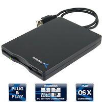 Sabrent External Usb 1.44 Mb 2x Floppy Disk Drive (fl-udrv) Black, on sale