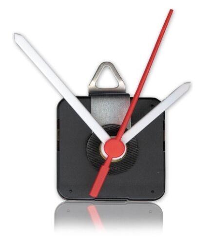 3x Quarzuhrwerk m Kunststoffzeigersatz Quarzuhr nahezu geräuschlos Quarz Uhrwerk