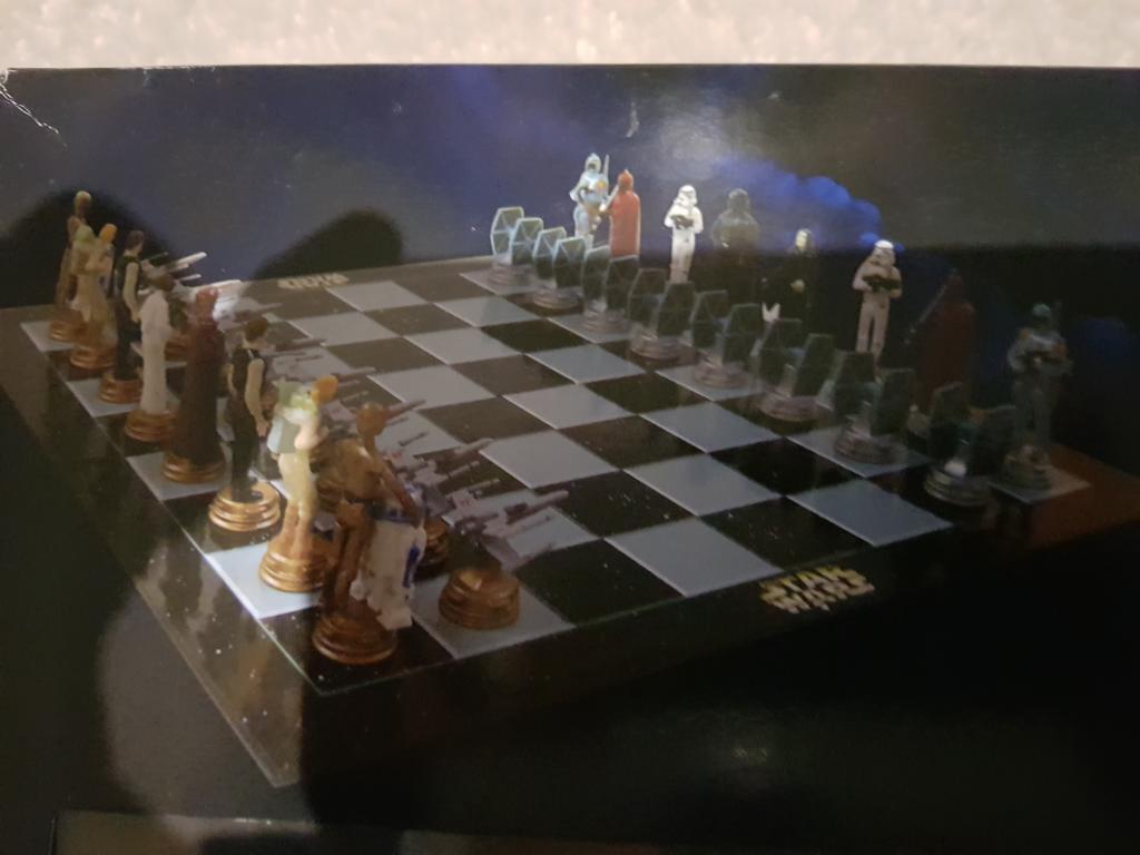 SAMMLER    - altes STAR WARS 3D-Schach Collectors Edition in OVP - 1997  | Hohe Qualität und geringer Aufwand