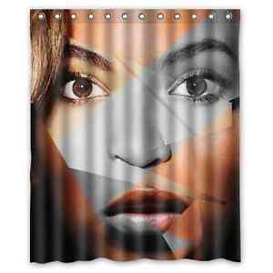 Image Is Loading Hot New Custom Beyonce Fabric Bathroom Waterproof 60x72