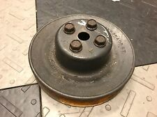 1986-1987 Grand National T-Type GNX TTA Timing Cover Water Pump Pulley Bolts GM