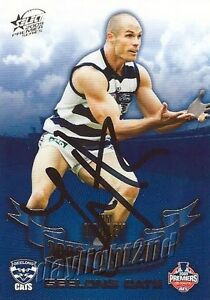 Signed-2009-GEELONG-CATS-AFL-Premiers-Card-TOM-HARLEY