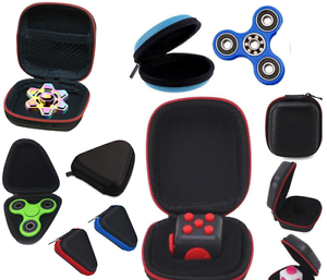 Carry-Case-For-Cube-Earphone-Bag-For-Fidget-Hand-Spinner-Triangle-Finger-Toy-Box
