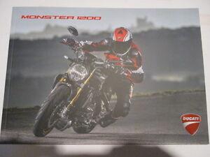 CATALOGUE MOTO : DUCATI : MONSTER 1200 - 01/2017 - EN ANGLAIS -