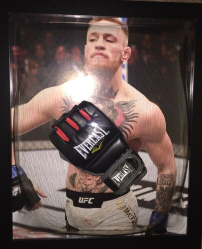 Signed Framed Notorious Conor McGregor Boxing Mit MMA Mayweather Ireland 2