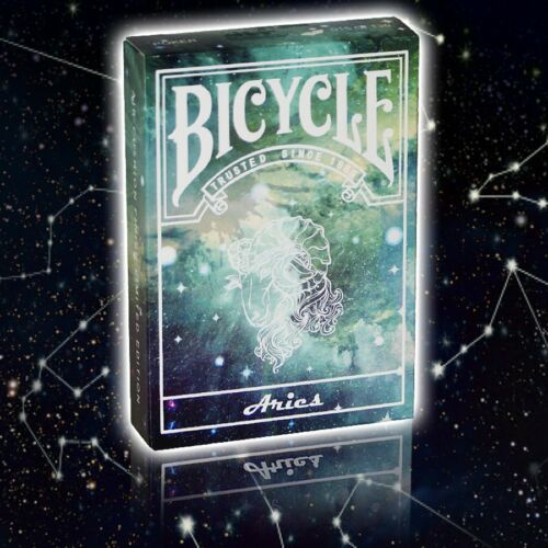 Bicycle Constellation Series - Aries - Poker Spielkarten Sternzeichen