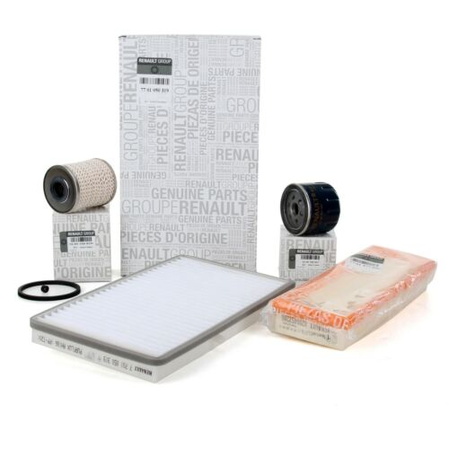 Original renault inspektionskit filtro paquete Filterset Trafic II 1.9dci 82//101 CV