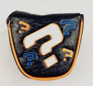 Limited-Funky-Odyssey-Question-Mark-Magnetic-Mallet-Putter-Cover-Headcover-UK