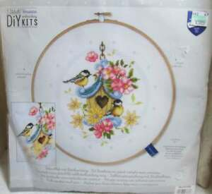 Vervaco Our New Bird House # 0151950 Cross Stitch Kit ...