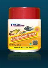 Ocean Nutrition Cichlid Omni Pellets 100 GRAM  (3.5 OZ.) Small ( 2 ) FREE SHIP