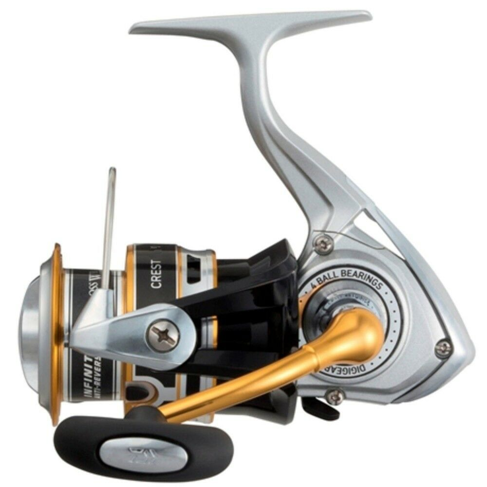 Daiwa Spinning Reel 16 Crest 2004H (2000 Größe) For Fishing From Japan