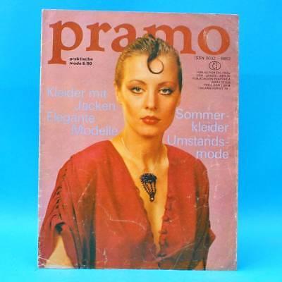Sonnig Ddr Pramo 6/1980 Praktische Mode Schnittmuster V Elegante Kleider Jacken Sommer