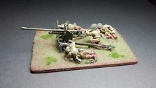 Painted 28mm Bolt Action US 57mm gun with crew - FREE Shipping