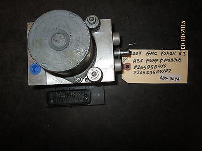 07 Gmc Yukon 5.3 Pompa Abs & Modulo # 0265950419/026523504107 Abs-308a Alta Sicurezza