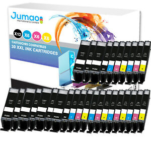 Lot-de-30-cartouches-jet-d-039-encre-type-Jumao-compatibles-pour-Canon-Pixma-TS9055