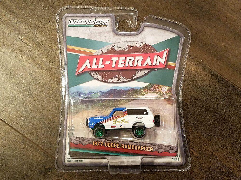 vertlight 1 64 tout-terrain 6 1978 Dodge Ramcharger Diecast voiture 35090-C Chase