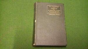 Manuali Hoepli - E. Romanini - Codice dell'Agricoltore - 1° ed. 1930, 16mg21