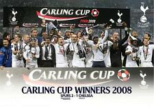 Tottenham Carling Cup Winners 2008 - Maxi Poster 91.5cm x 61cm (new & sealed)